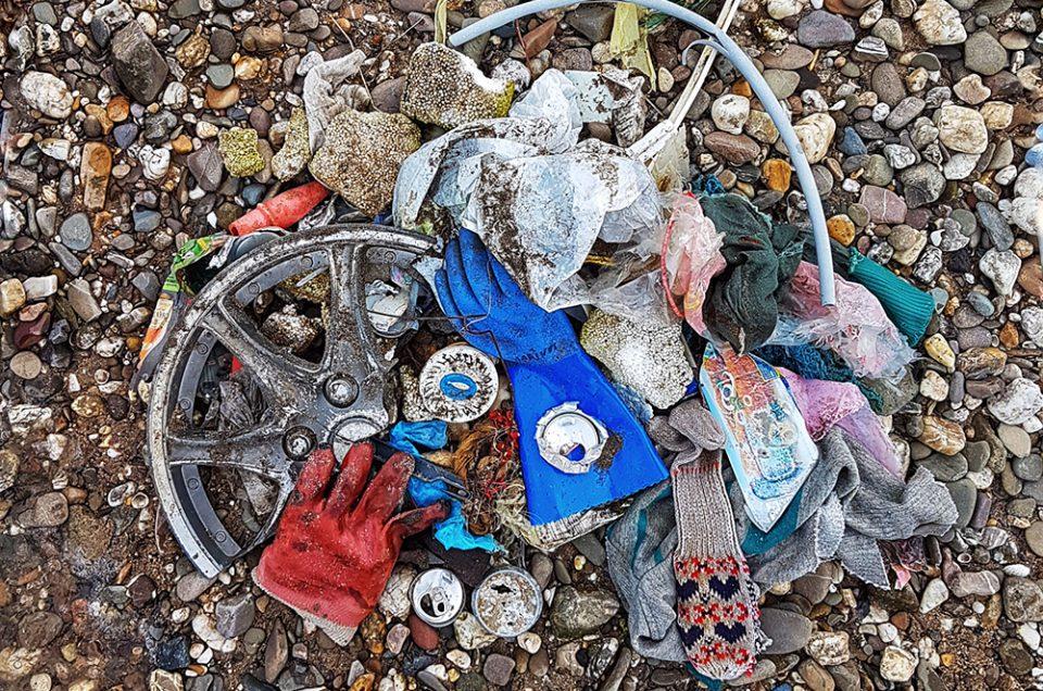 Müll am Paradiesstrand