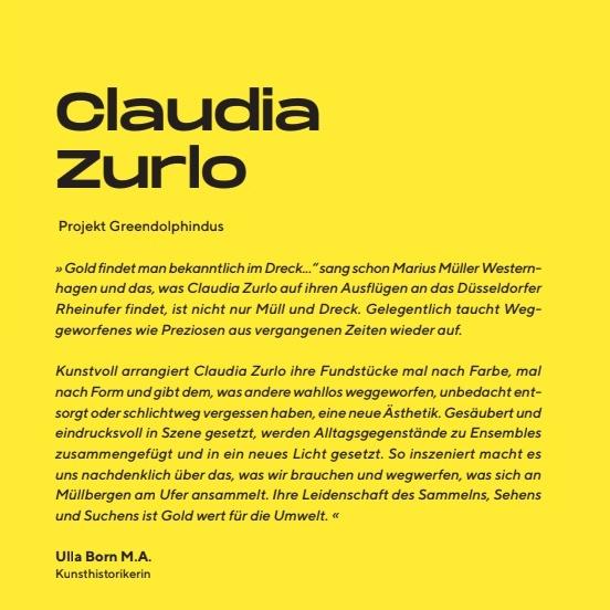 Claudia Zurlo Projekt Greendolphindus